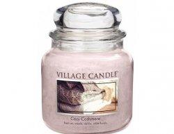 Vonná svíčka ve skle Kašmírové pohlazení-Cozy Cashmere, 16oz