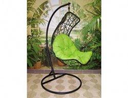 Závěsné relaxační křeslo DIANA, zelený sedák