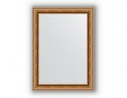 Zrcadlo v rámu, bronzový versailleský ornament, 55x75 cm