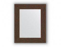 Zrcadlo v rámu, měděná mozaika antická