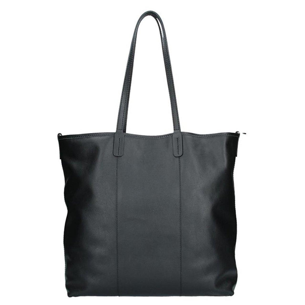 6fec41de790 Dámská kožená kabelka Facebag Gwen - černá
