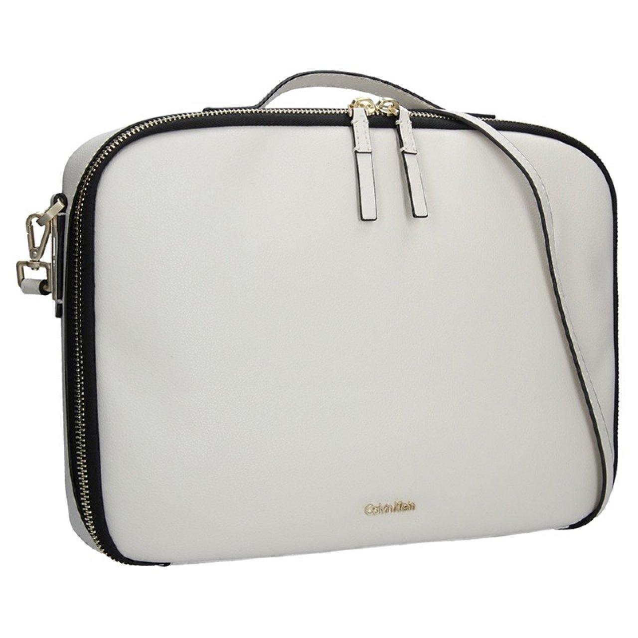3b75f37fd8 Dámská taška na notebook Calvin Klein Aurora - krémová