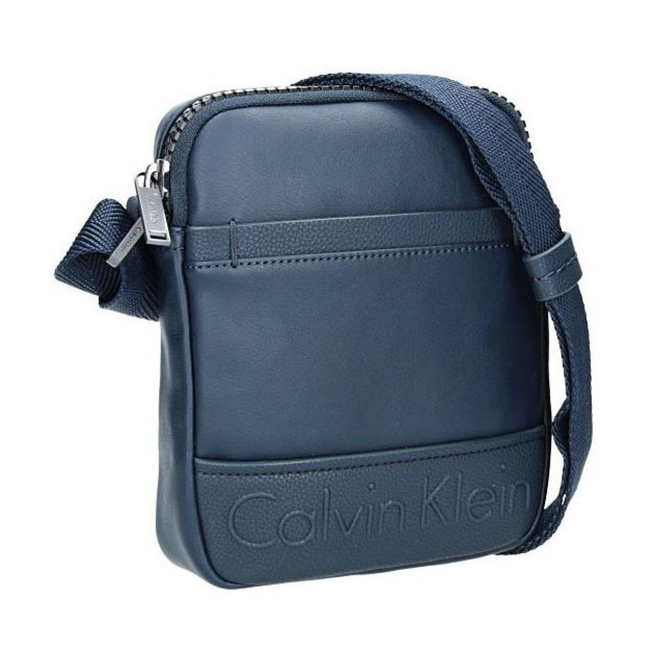 Pánská taška přes rameno Calvin Klein Landa - modrá  98bdc691e9b
