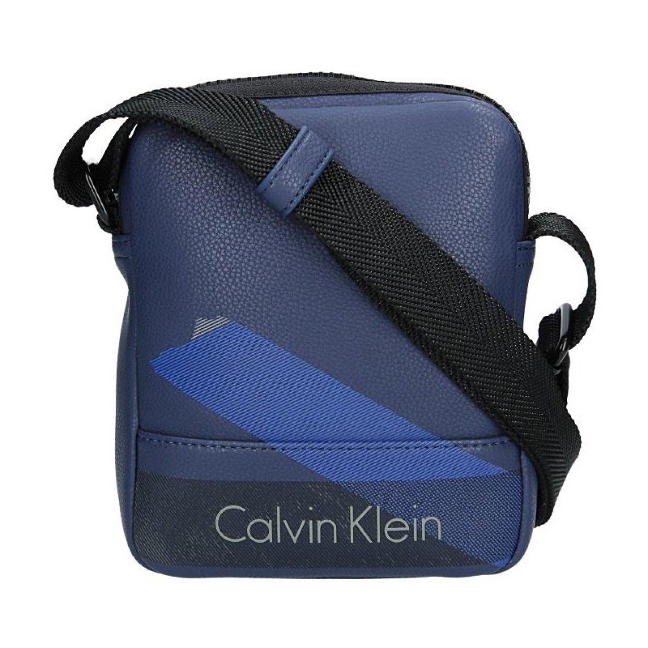 Pánská taška přes rameno Calvin Klein Raul - modrá  8c66a26a56