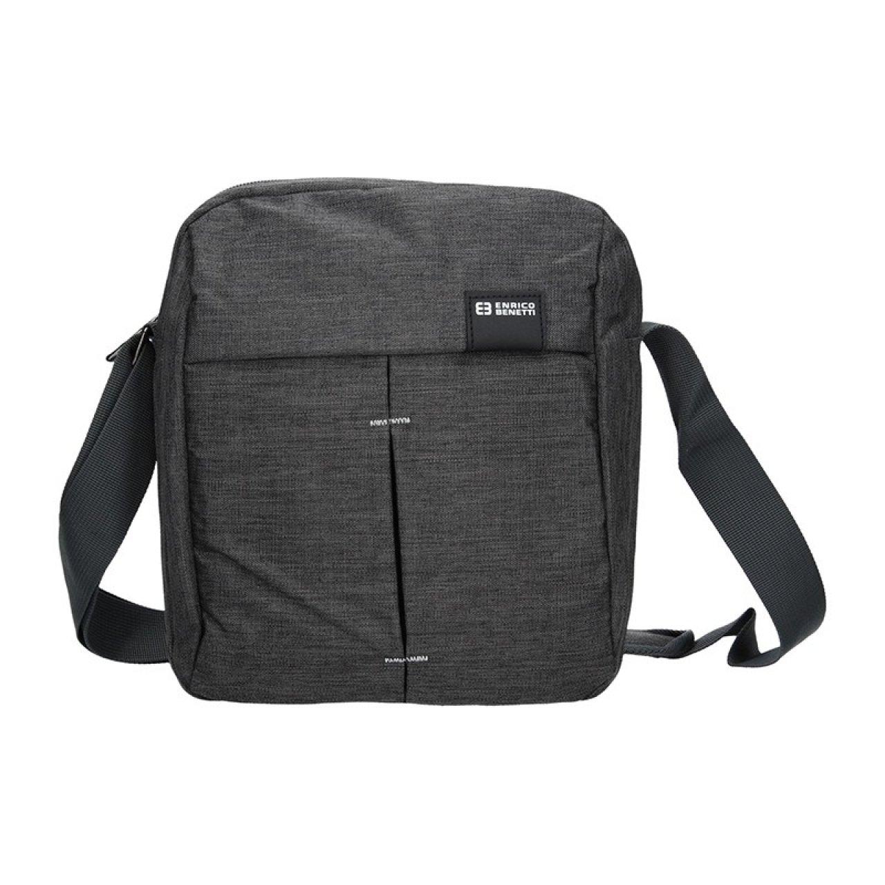 437bfad9be Pánská taška přes rameno Enrico Benetti Filip - šedo-černá