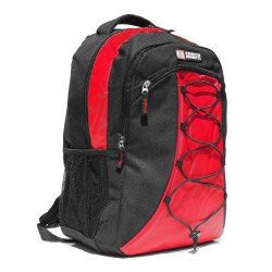 Červeno-černý sportovní batoh Enrico Benetti