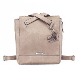 Dámská batůžko kabelka Tamaris Milla - béžová