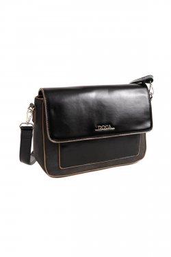 Dámská crossbody kabelka Doca 14170 - černá