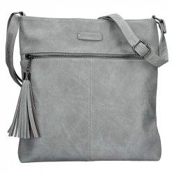 Dámská crossbody kabelka Enrico Benetti 66233 - šedá