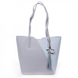 Dámská kabelka David Jones Lenka - modrá
