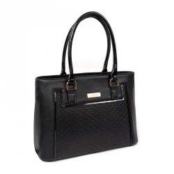 Dámská kabelka Doca 13105 - černá