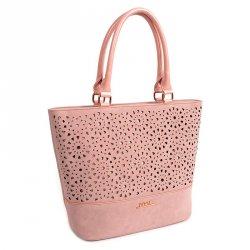 Dámská kabelka Doca 13450 - růžová