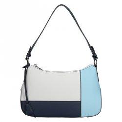 Dámská kabelka Hexagona 505236 - modro-bílá