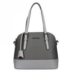 Dámská kabelka Hexagona 645159 - šedá