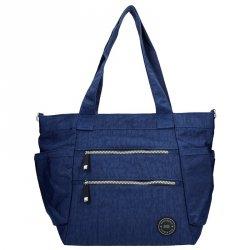 Dámská kabelka New Rebels Crincle Shopper - modrá