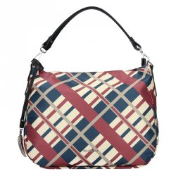 Dámská kabelka Waipuna Linda - červeno-modrá