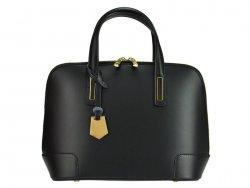 Dámská kožená kabelka Pierre Cardin Leopolda - černá