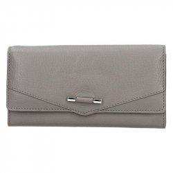 Dámská kožená peněženka Lagen Kasandra - šedá