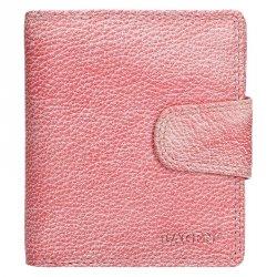 Dámská kožená peněženka Lagen Marla - růžová