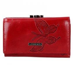 Dámská kožená peněženka Lorenti Melba - červená