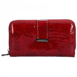 Dámská kožená peněženka Lorenti Selma - červená