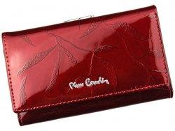 Dámská kožená peněženka Pierre Cardin Alberta - červená