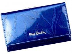 Dámská kožená peněženka Pierre Cardin Alberta - modrá