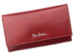 Dámská kožená peněženka Pierre Cardin Elena - vínová