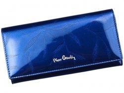 Dámská kožená peněženka Pierre Cardin Eliška - modrá