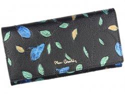 Dámská kožená peněženka Pierre Cardin Plant - černá