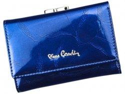 Dámská kožená peněženka Pierre Cardin Vierra - modrá