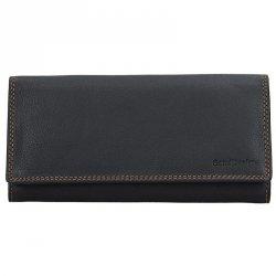 Dámská kožená peněženka SendiDesign Helena - černá