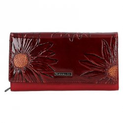 Dámská peněženka Cavaldi Alice - tmavě červená