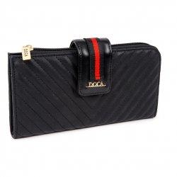 Dámská peněženka Doca 64794 - černá