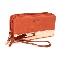 Dámská peněženka Doca 64871 - růžová