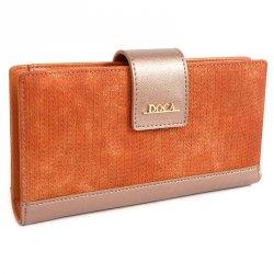 Dámská peněženka Doca 64972 - oranžová