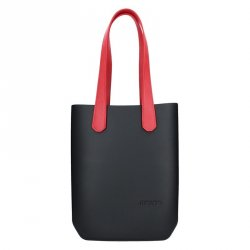 Dámská trendy kabelka Ju'sto J-High - černo-červená