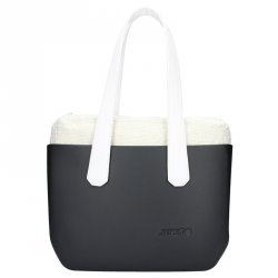 Dámská trendy kabelka Ju'sto J-Wide Andrea - černo-bílá