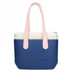 Dámská trendy kabelka Ju'sto J-Wide Andrea - modro-růžová