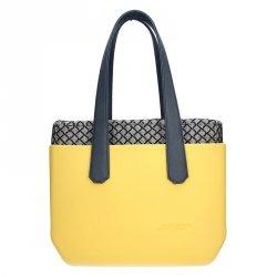 Dámská trendy kabelka Ju'sto J-Wide Dora - žluto-modrá