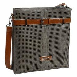 Dámská kožená kabelka Facebag Marika - hnědá