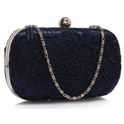 Dámské krajkové psaníčko LS Fashion Emily - modrá