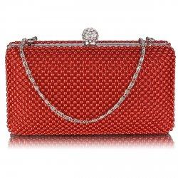 Dámské psaníčko LS Fashion Charlotte - červená