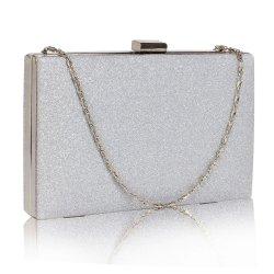 Dámské psaníčko LS Fashion Daisy - stříbrná