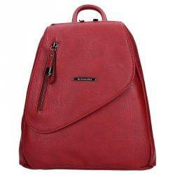 Dámský batoh Hexagona 374767 - tmavě červená