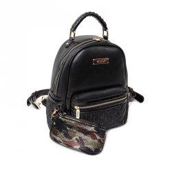 Dámský batůžek Doca 12888 - černá