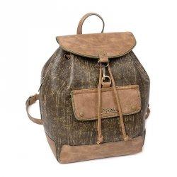 Dámský batůžek Doca 12899 - khaki