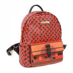 Dámský batůžek Doca 13041 - červená
