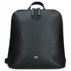 Dámský kožený batoh Daag Native 16 - černá