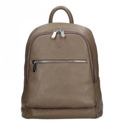 Dámský kožený batoh Katana 83819 - taupe